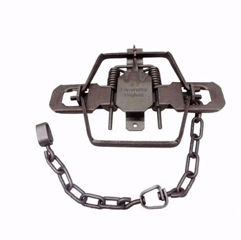 Wolf Creek #2 Dogless Offset Coil Spring Trap #WCT125